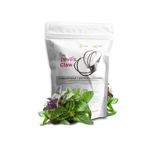 The Herbal Horse - Natural supplements for horses - Pure Devil's Claw 500g