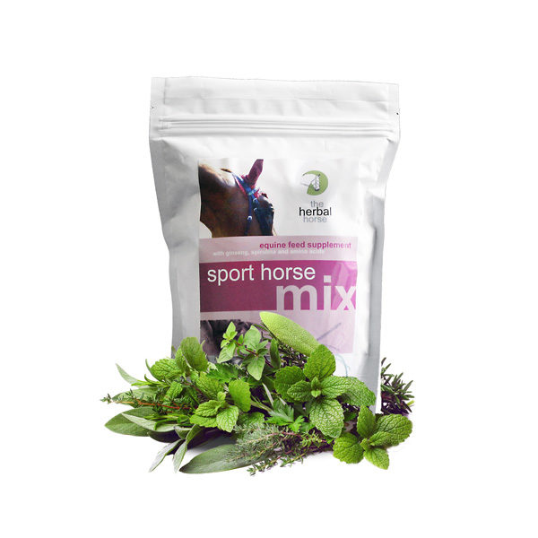 The Herbal Horse - Natural event horse supplement - Sport Horse Mix 500g